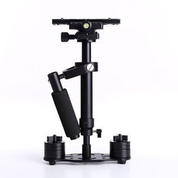 DHL S40 40 см профессиональный ручной стабилизатор Steadicam для видеокамеры цифровой камеры видео Canon Nikon Sony DSLR Mini Steadycam cheap mini video stabilizer от Поставщики мини-видео стабилизатор