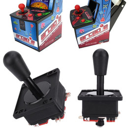 Wholesale Fighting Arcade - Hot sale high quality Arcade Game Joystick Controller Competition 8 Way Fight Stick Zero Delay Parts