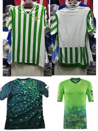 2018 2019 REAL BETIS soccer Jersey 18 19 à domicile JOAQUIN WILLIAM BOUDEBOUZ C. TELLO A. GUARDADO HULIO 17 maillots de football de qualité thaïlandaise xxl ? partir de fabricateur