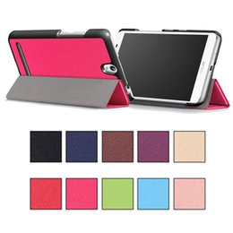 "Tavoletta magnetica online-Custodie Pad per Tablet PC Custodie pieghevoli magnetiche pieghevoli per asus ZenPad C 3S Z8 8.0 ""10"" 10 colori"