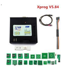 2019 outil de balayage abs Dernière version 2018 Programmeur XPROG M V5.84 pour boîtier de calculateur X-PROG avec dongle USB X Prog 5.84
