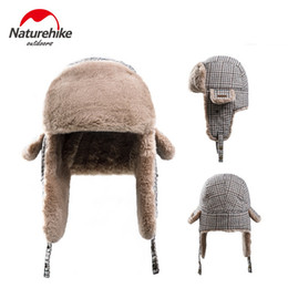 Naturehike Unisex Outdoor Earmuffs Thermal Cycling Windproof Hat Breathable  Mask Helmet Folding Cap Wool Thermal Winter Hats discount winter earmuffs  men a45a7658afe7