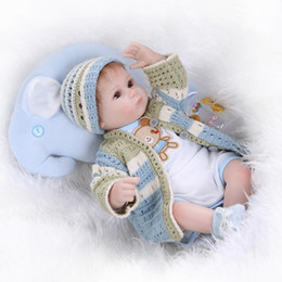 2019 giocattoli a maglia all'ingrosso All'ingrosso-Neonati in silicone per bambina, realistici 18