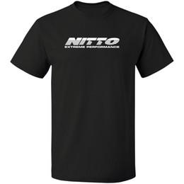 Photos des pneus en Ligne-logo Nitto Tires LIVRAISON GRATUITE T-SHIRT S-3XL T-shirt pour homme décontracté d'été Bonne qualité top tee