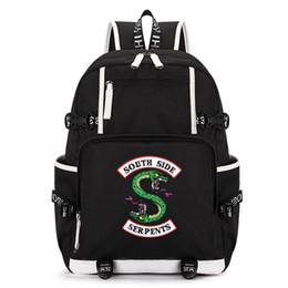 Unisexe Riverdale Sac à dos étudiants école Bagpack Hommes Sac à dos femmes Sacs à dos pour ordinateur portable Voyage Sacs 36-55 litres ? partir de fabricateur