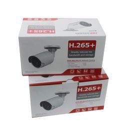 Poe ballet ao ar livre on-line-Hikvision H.265 Bala Câmera IP PoE DS-2CD2043G0-I 4MP CMOS IR Rede de Vigilância de Vídeo com Slot Para Cartão SD Face Dectection