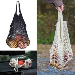 Deutschland Mode einkaufen netztasche bequem wiederverwendbare obst schnur einkäufer baumwolle tote gemüse lagerung outdoor handtasche Versorgung
