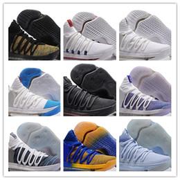 Nike KD shoes 2018 KD 10 баскетбол обувь мужские мужчины Белый теннис Кевин Дюрант 10 X Kds цветочные тетя жемчуг Пасха спортивная обувь спортивная Sneake от
