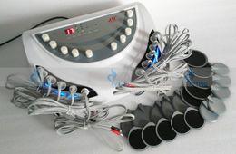 Wholesale Electro Stimulation Slimming - EMS electric muscle stimulator body slimming pads equipment electro muscle stimulation weight loss body massage machine