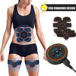 Muscle Trainer Électronique Muscle Abdominal Exerciseur Machine Fitness Toner Ventre Bras Exercice USB Charge Équipement D'entraînement ? partir de fabricateur