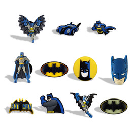 Adesivi da cucina per bambini online-Classico film Batman Cartoon Action Figure Fridge Magnet Moda PVC Lavagna Sticker Home / Cucina / Decorazione auto Kids Favor Regalo di compleanno