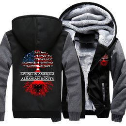 canadian flag Скидка 2018 Professionally Custom Tree of National Flag Canadian Coat Zipper Hoodie Winter Thicken Jacket Sweatshirts