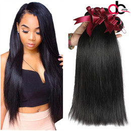 Wholesale Weaves Brazilian Hair Grades - Grade 9A Mink Brazilian Straight Hair Unprocessed Brazilian Virgin Human Hair Weave Bundles 100% Brazilian Vrgin Hair Straight