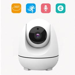 инфракрасные линзы Скидка HD 1080P беспроводной Wifi IP-камера 3.6 мм объектив инфракрасный ночного видения обнаружения движения камеры наблюдения поддержка TF карта