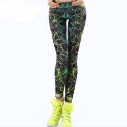 Leggings de color morado online-Autumn Legging Black Blue and Purple Objetos legins Leggins estampados Leggings de mujer Pantalones de mujer sexy