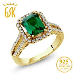 Rabatt Gelbgold Smaragd Ringe 2018 Smaragd Verlobungsringe