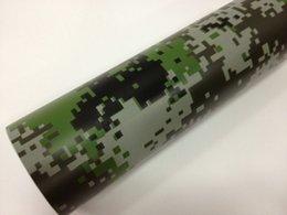 Wholesale car vinyl wrap camouflage - 1.52*30m Best Quality PVC Desert Forest Camouflage Vinyl Vehicle Wraps Car Wrapping Vinyl
