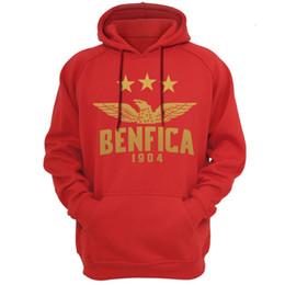 Comprar Benfica Portugal Hoodies Moletons Com Capuz Com Capuz moletom com capuz dos homens engraçados de lã masculino marca hoodies jaquetas do Benfica fa cheap funny hoodies men de Fornecedores de homens engraçados dos hoodies