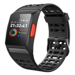 Rastreador de relógio de gps on-line-GPS Esporte Inteligente Monitor de Freqüência Cardíaca de Fitness Relógios de Pressão Arterial Banda Inteligente Ao Ar Livre Treinamento de Fitness Em Execução Pulseira Rastreador