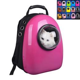Mascota portátil portador espacio cápsula mochila mascota burbuja viajero mochila múltiple airvents impermeable ligero bolso para gatos perro desde fabricantes