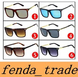 Wholesale Sport Toms - New Brand luxury High qualtiy New Fashion 0392 Tom Sunglasses For Man Woman Erika Eyewear ford Designer Brand Sun Glasses MOQ=10