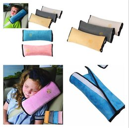 Wholesale Universal Harness - Universal Bay Child Car Cover Pillow Baby Shoulder Safety Belts Children Strap Harness Protection seats Cushion Support