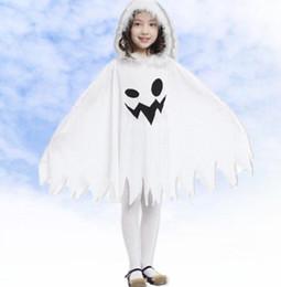 4fa6fad65728 2019 costume fantasma dei bambini Costumi di Halloween Bambini Ragazza  bambini Costume da strega Costume da