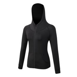 Wholesale Ladies Xxl Clothing - Wholesale-Quick Dry Women long Sleeves Top T-shirt Gym Jogging Shirt Lady Training Yoga Workout Clothing Yoga T-shirts For Women