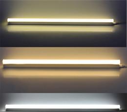 Deutschland Led Tube T5 integrierte 1ft 2ft 3ft 4ft 10W 16W 24W 36W Led Leuchte AC175-265V SMD2835 Trichromatische Lichtänderung fluoreszente Lampen supplier led tube 24w 1.2m Versorgung