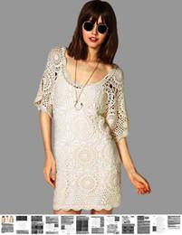 Patrones de vestido de ganchillo online-Vestido de ganchillo PATTERN, vestido boho sexy de crochet, instrucciones detalladas para cada vestido de crochet de diseño de filas PATTERN, boho beach