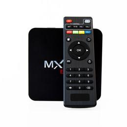 Wholesale Cheap Tv Boxes - Cheap MXQ Pro Android TV box RK3229 Quad core 1g 8g mini PC 4K TV Box with remote control DHL free shipping