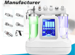 Wholesale Diamond Hydro Microdermabrasion Machine - 2018 New 6in1 Hydro Dermabrasion Facial Machine Water oxygen jet Peeling Diamond Microdermabrasion Machine Facial Care Skin Rejuvenation