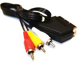 1.8 м 6FT RGB Scart AV кабель ведущий аудио видео разъем для NES высокое качество быстрый корабль от Поставщики кабельные разъемы