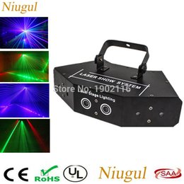 Wholesale Beam Laser Club Lighting - High quality Fan-shaped six-eye scanning RGB laser light for DJ disco club party stage effect lights with vce control beam light