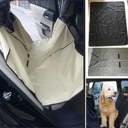 2019 coperture per cane Auto Pet Dog Car Seat Covers Cat Impermeabile Car Cuscino Per Auto Camion Amaca Convertibile Pet Supplies Accessori 145 * 130 cm WX9-739 coperture per cane economici