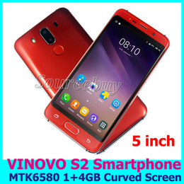 Wholesale Cheap Unlock Smart Phones - 5 inch Cheap Android Phone 3G Quad Core MTK6580 Dual SIM Unlocked Smartphones 1GB 4GB QHD 960*540 Cell Phone with free TPU case