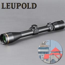 fusils de sniper Promotion LEUPOLD VX-3 4.5-14X40mm Lunette De Chasse Portée Chasse Tactique Verre Réticule Montage Gratuit Pour Sniper Airsoft Gun Chasse