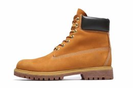 Wholesale work boots for men waterproof - Women and Men WITH Big Tree Log Classic 10061 Timber Brand Designer work hiking Boots for Luxury Timber Brand Retro boots with DHL