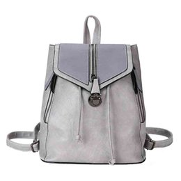 best color backpack Coupons - Best Selling Fashion Backpack PU Ladies Exquisite Solid Color Backpack High Quality Retro Dignified Style Classic Brand Design