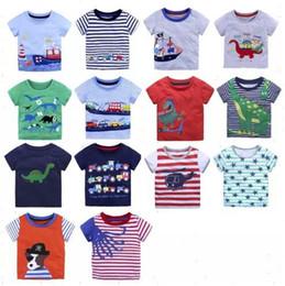 9aed88370274 Discount kids black white striped t shirt - Hotsale Kids T-shirts Boys  Cartoon Tees