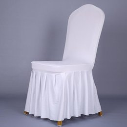 Wholesale Restaurant Wholesalers - Home Decors Seat Covers Spandex Stretch Wedding Chair Cover Restaurant Hotel Chair Coverings Banquet Plain Chair