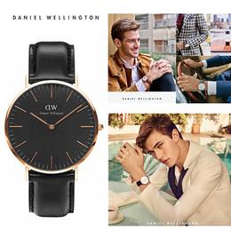 женские водостойкие часы Скидка Оптовая продажа-человек часы Марка роскошные мужчины и женщины минималистский дизайн кожаный ремешок женщины мода простой кварцевые водонепроницаемые часы