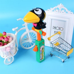 Wholesale games sounds - Originality Toy Sound Recording Big Mouthed Bird Funny Doll Imitative Show Puzzle Sound Control Game Interactive Novelty Toys 15 8hb W