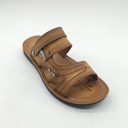 cad4d011f2197 microfiber slippers Promo Codes - Men s Sandals Microfiber Beach Sandals  2018 Summer New Men s Casual Shoes