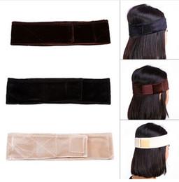 2019 accessori dei capelli all'ingrosso giapponese Parrucca in velluto flessibile Grip Sciarpa Fascia per capelli regolabile Fastern Parrucca