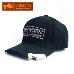 Wholesale bottle cap man - [EXILIENS] Fashion 2017 Brand Baseball Cap Bottle opener Snapback Caps Strapback Bboy Hip-hop Hats For Men Women Fitted Hat