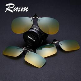 2019 grampo óculos de visão noturna Homens gradiente rmm mulheres flip up  polarizada óculos de sol 9ce9cd4f01