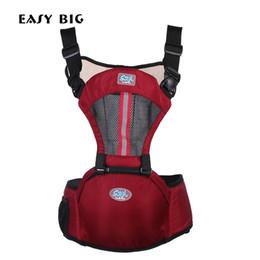 Fissure frontale en Ligne-EASY BIG 3-36 Mois Respirant Multifonctionnel Face Face Porte-Bébé Infantile Sling Sac À Dos Poche Wrap Bébé AG0002