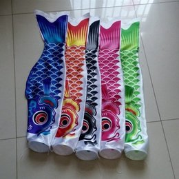 Wholesale Wind Socks - Japanese Style Carp Winds Sock Flag Colorful Mini Fish Wind Streamer For Festival Decoration Windsock Koinobori Banner Durable 8xm3 B
