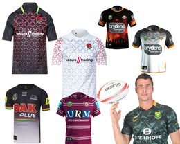 Wholesale Eagle Wine - 2018 2019 England rugby shirts WESTS TIGERS MANLY SEA EAGLES PARRAMATTA EELS MELBOURNE STORM QUEENSLAND MAROONS QUEENSLAND COWBOYS